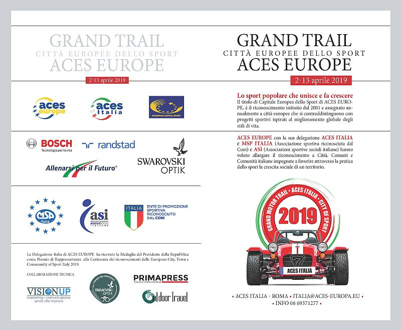 Grand Trail motoristico 2019